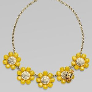 Kate Spade Flower Bee Necklace